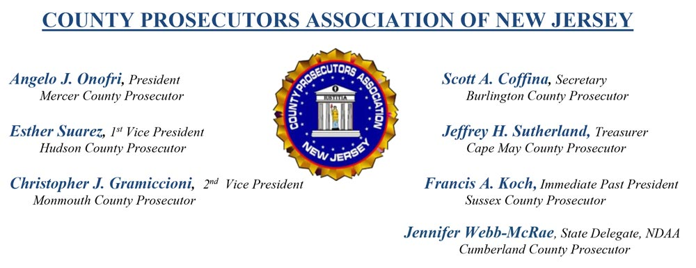 county prosecutors nj header - Message from the County Prosecutors Association of New Jersey
